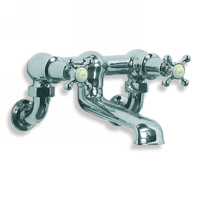 Lefroy Brooks Ch1151 Connaught Wall Mounted Bath Filler With Crosshead
