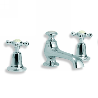 Lefroy Brooks Ch1224 Connaught Three Hole Basin Mixer With Connaught